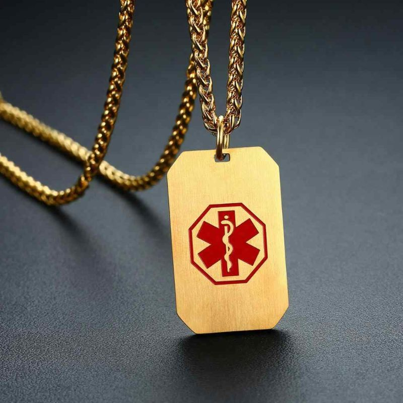 joyas con mensajes médicos
